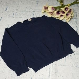 Boy's Children's Place V Neck Solid Sweater